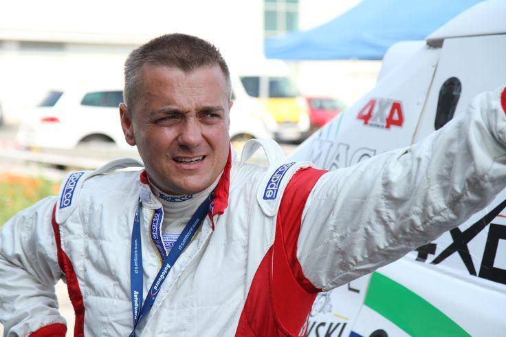 Marcin Grydziuszko, Mitsubishi Pajero T1