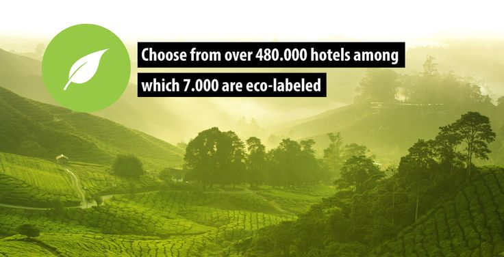 If you are looking for a sustainable hotel, you are no longer dependent on specialized sites. Green hotels can be found quickly and easily on BookDifferent.com. We are the first hotel booking site that shows which of our hotels are registered with an eco-label. Choose one of our 6,957 eco-labeled hotels! #bookdifferent #greenhotels #charity #travel
