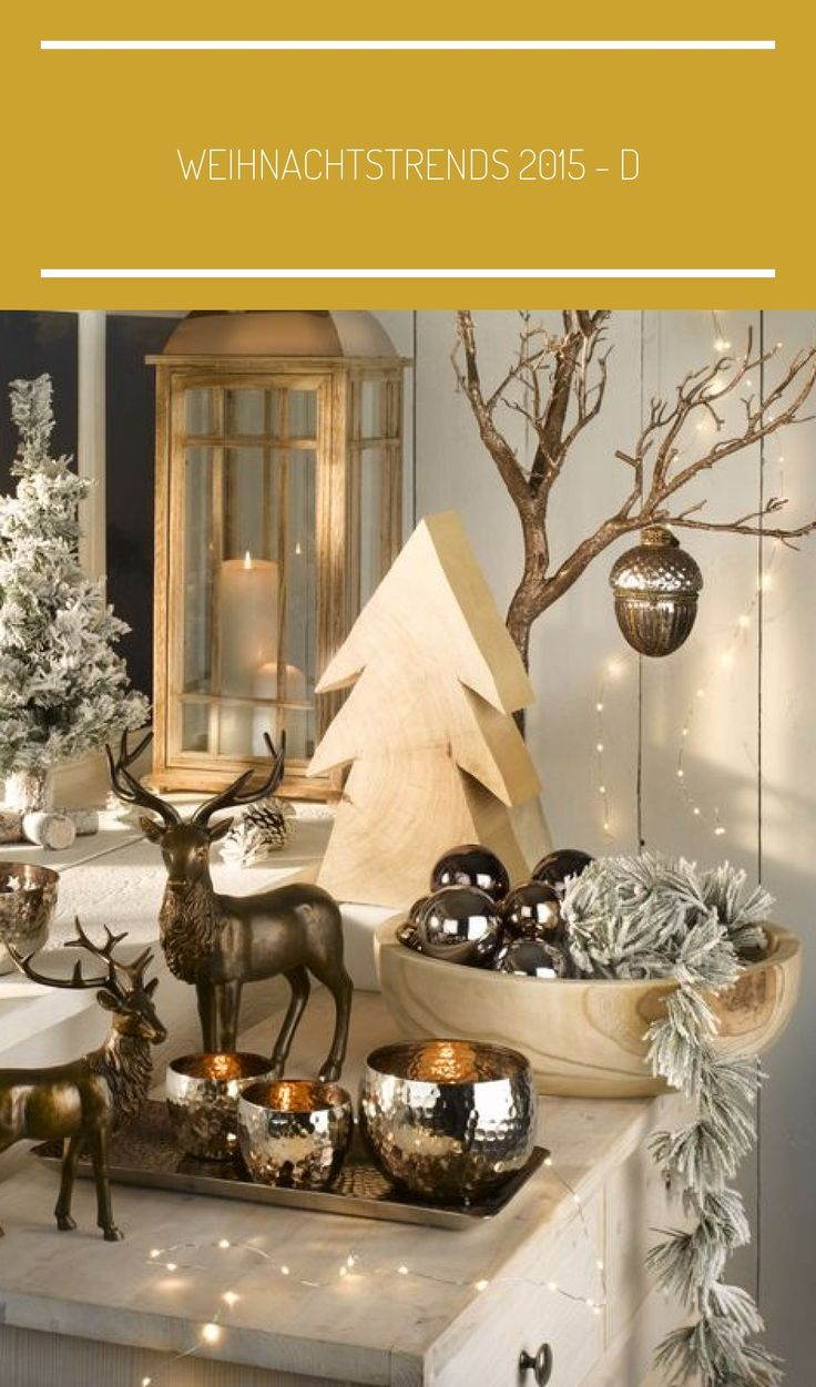 Weihnachtstrends 2015 D in 2020 Christmas trends