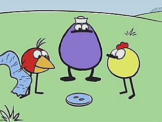 "Okay, who used to watch ""Peep and the Big Wide World""? I did! Chirp, Quack, and Peep"