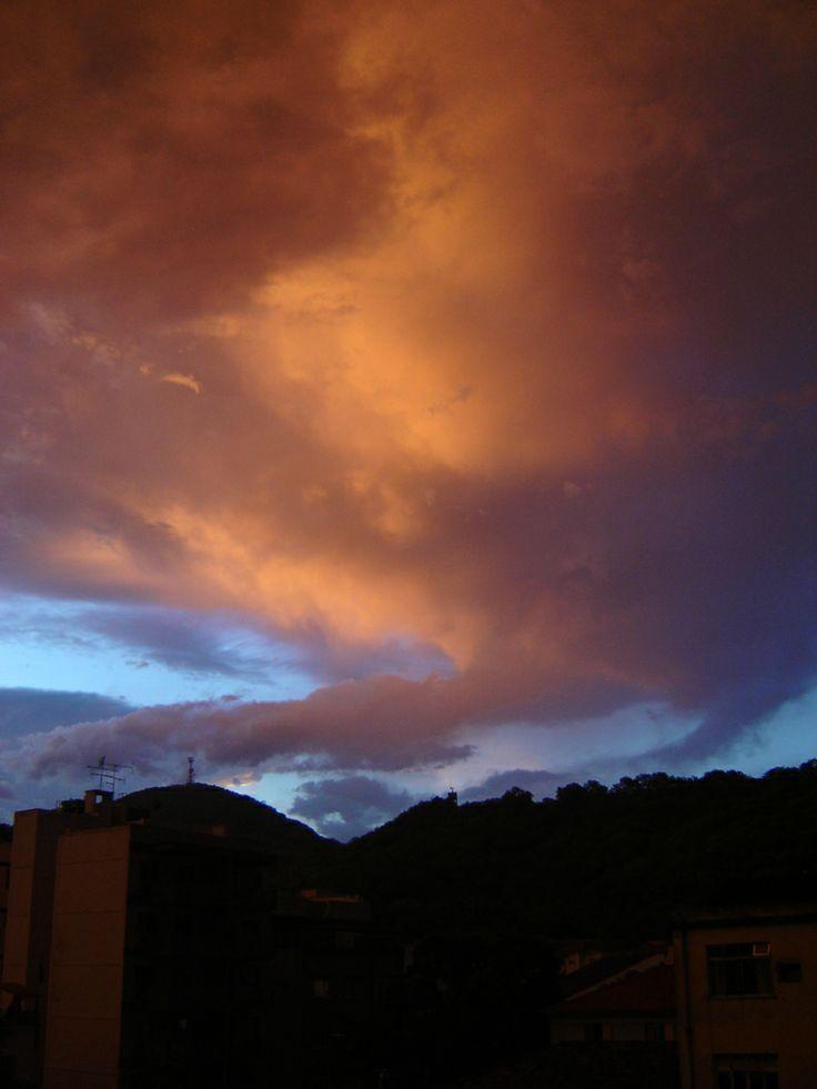 Rio de Janeiro sky after rain