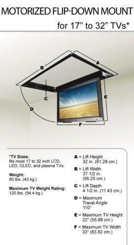 motorized tv lift ebay