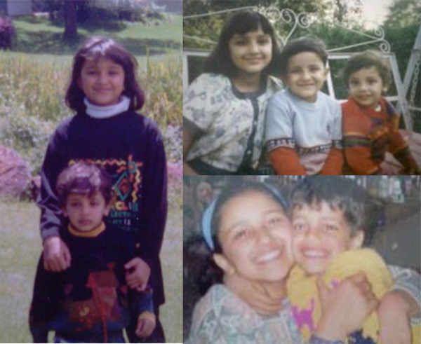 Parineeti Chopra Childhood Photos