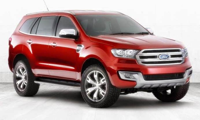 New Ford Everest Concept Reviews