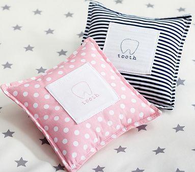Tooth Fairy Pillows #PotteryBarnKids