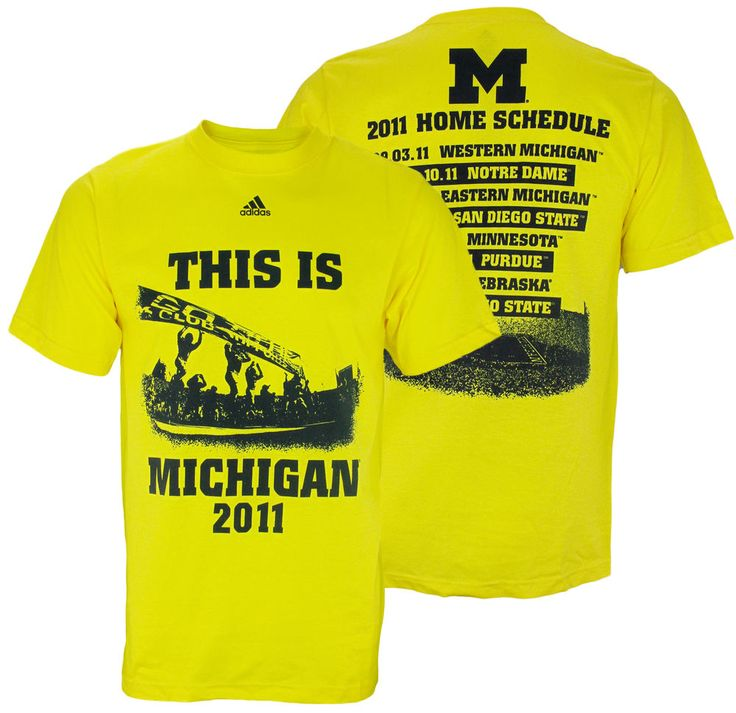 25 best ideas about michigan wolverines football schedule for Alma mater t shirts