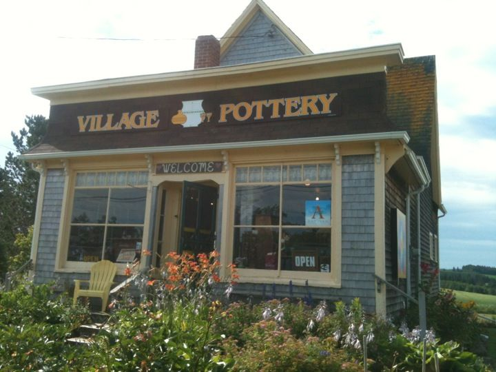 Village Pottery in New London, PE is a mother-daughter operation with colourful mugs, plates, bowls, teapots, jewellery and more. They also are big fans of Lady Baker's Tea, so you can pick up some tea with your mugs and take it hope to enjoy! Well worth a stop this summer!