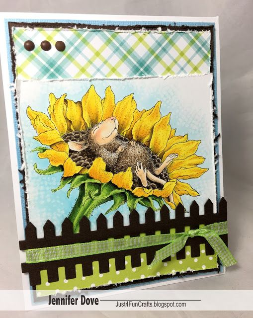 Just4FunCrafts: Smell the Spring Air.    Copics: YG03 Yg17 YG67 E42 E44 E47 E50 E51 E93 B00 B000 Blender Marker Texture Rag/Solution Y08 Y19