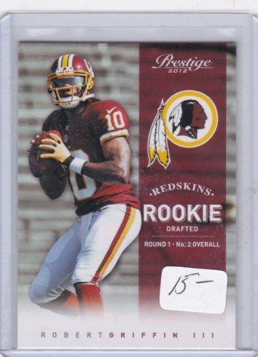 2012 Panini Prestige #230 Robert Griffin III RC / RG3 - Washington Redskins (RC - Rookie Card) (Football Cards)