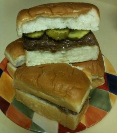 White Castle Sliders: White Castle Sliders Recipes, White Castle Recipe, White Castles, Mock Sliders, Mock White, Sliders White, Whitecastle Burgers, White Castle Burgers, White Castle Hamburgers