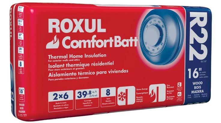 Comfortbatt R22 For 2x6 Studs 16 In. On Centre