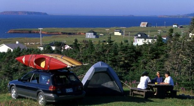 Camping La Salicorne - Campgrounds - LodgingMagdalen Islands