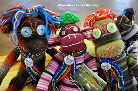 Sock Monkeys! Fabulous South African crafts