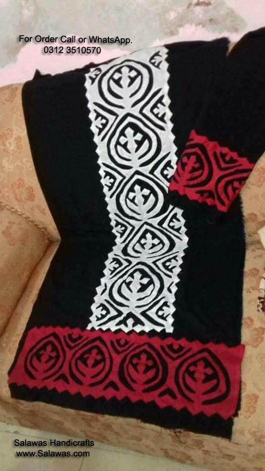 b32ca22a408 The Best Designs of Applique Work for suits   Salwar Kameez form Handmade  Sindhi Pakistani tradition Also Know Cut work Or Patchwork Sindhi Applique  Suit