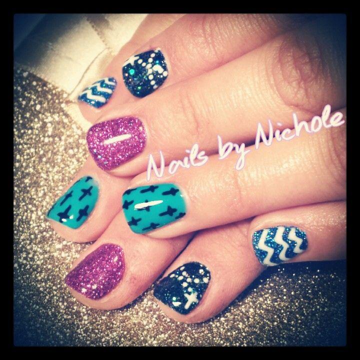 Gel nails by Nichole #lightelegancegelproducts