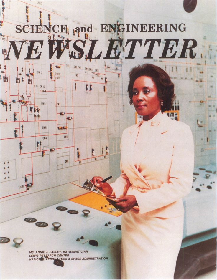 """""""Did You Know?"""" Archive - Black Science Network: Annie Easley (1933-2011) was an African-American computer scientist, mathematician, and rocket scientist who worked for National Aeronautics and Space Administration (NASA) and its predecessor agency, National Advisory Committee for Aeronautics's Lewis Research Center. She was one of the first African-American women and a leading member of the team which developed software for the Centaur rocket stage."""