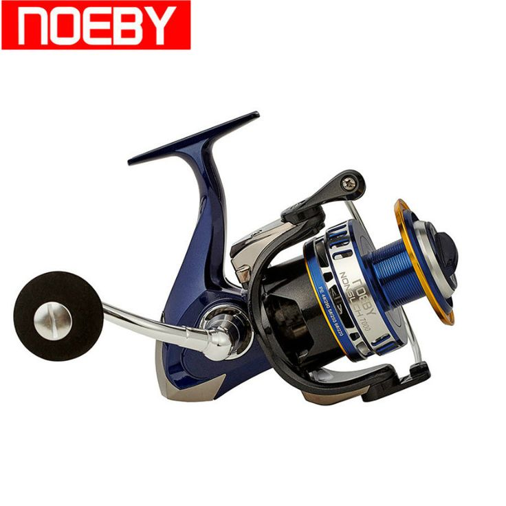 NOEBY Full Metal Spinning Fishing Reel 10 1BB 4.9:1 Drag Power 20kg Carretilha De Pesca Moulinet Peche Vissen Fishing Coil