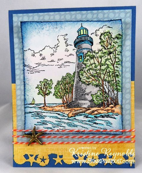 17 Best Images About Beach, Palm Tree & Lighthouse Cards