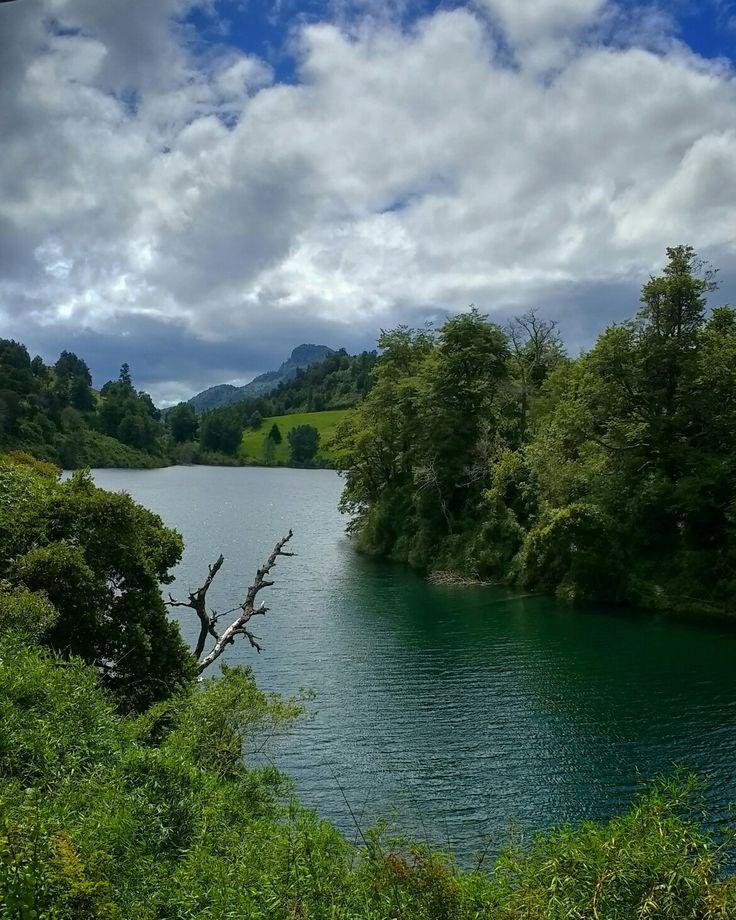 Laguna Verde, Futrono Región de los Ríos. Valdivia.