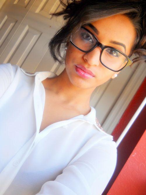 Black Girls In Glasses