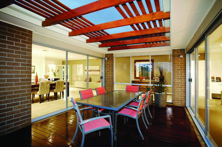 Alfresco Living #homes #beautifuldesign #newhomes #melbourne #melbourneliving www.megahomes.com.au
