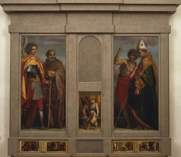 Pala di Vallombrosa (1528; Firenze, Uffizi)