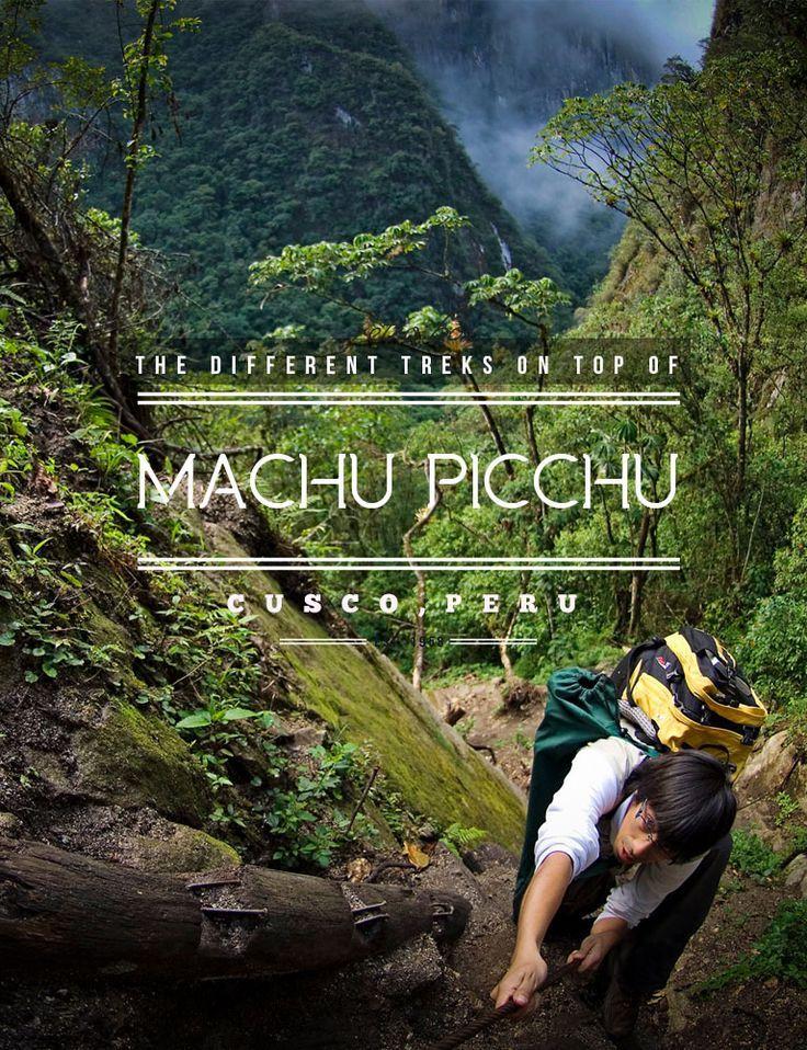 Travel Peru l The Different Treks on Top of Machu Picchu l @perutravelnow
