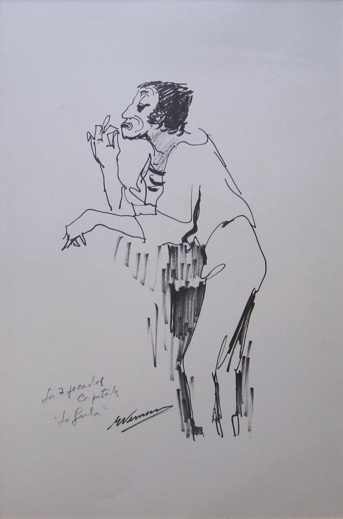 "Eduardo Vernazza ""Los 7 pecados capitales"" Impreso sobre papel 50 x 34 cm.  http://www.portondesanpedro.com/ver-producto.php?id=11786"