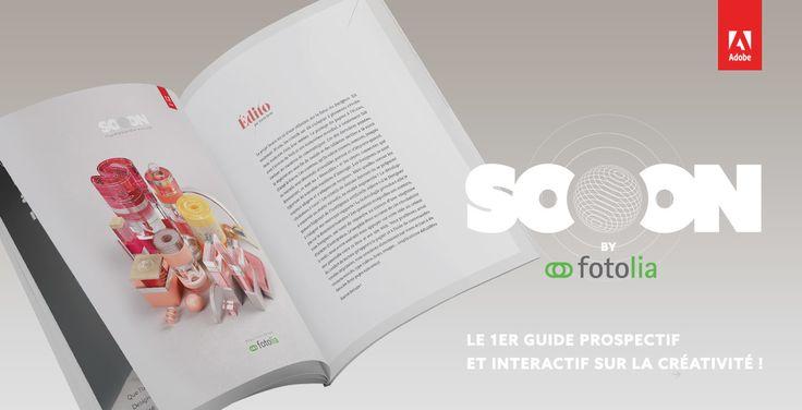 Fotolia, membre de la famille Adobe, lance SOOON, un projet composé d'un livre imprimé et d'un site Web dédié. Ce concept a pour but d'alimenter la réflexion sur le futur du Designer.