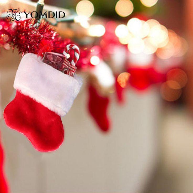 Рождественский Чулок Санта Носки Хранения Конфеты Деньги Подарки Держатели Рождественский Декор Висит Украшения Посуда Санта calcetines