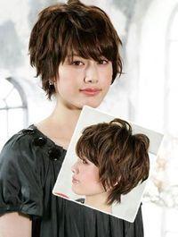 short hair http://gurlrandomizer.tumblr.com/post/157387787697/hairstyle-ideas-i-love-this-hairdo-facebook