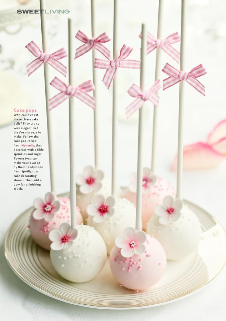 ISSUU - Sweet Living magazine by Plain Jane Media Cake pops