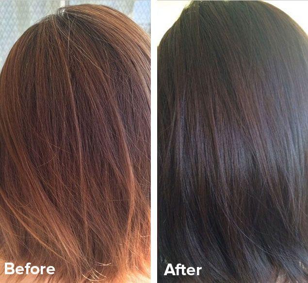 Natural Henna Hair Dye Medium Brown