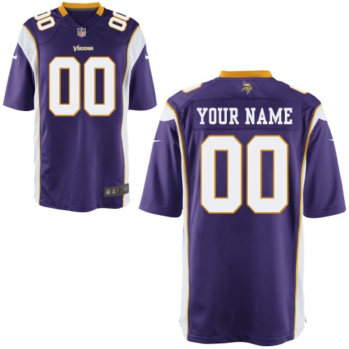 New customized 2014 new nfl jerseys minnesota vikings customized jerseys 3