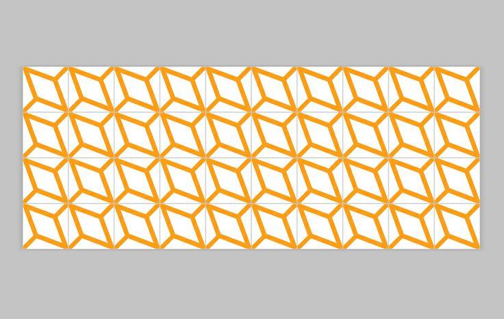 Lurca Azulejos - Coleção Modelo Polvo Amarelo // Collection Polvo Yellow Ceramic Tiles // Shop Online www.lurca.com.br/ #azulejos #azulejosdecorados #revestimentos #arquitetura #interiores #decor #design #sala #reforma #decoracao #geometria #casa #ceramica #architecture #decoration #decorate #style #home #homedecor #tiles #ceramictiles #homemade