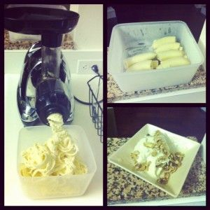 Making Banana Ice Cream with the Omega J8006 Juicer | Fit Juice