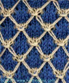 Knitting Interesting Stitches : 38 best Interesting knitting stitch patterns images on Pinterest Knitting s...