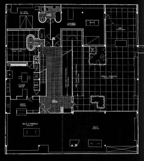 Villa Savoye - Le Corbusier Planos 02