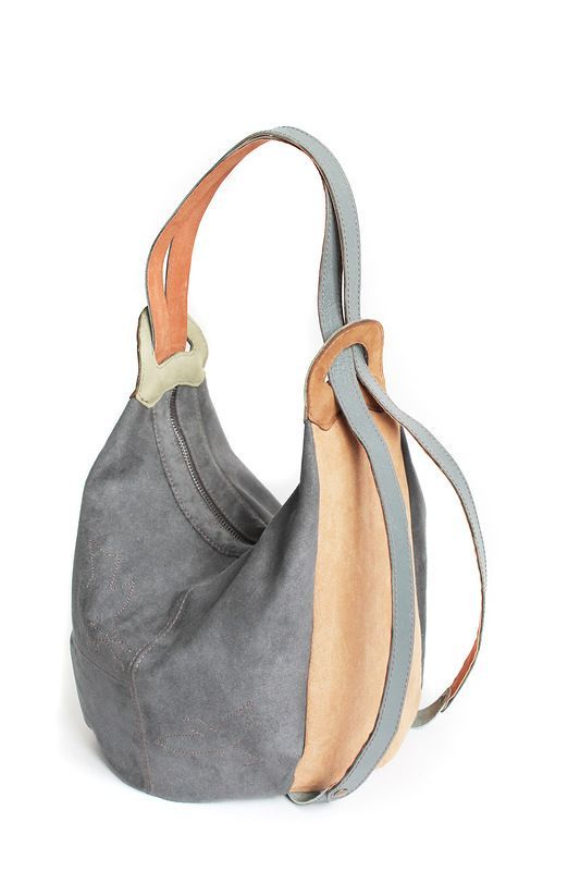 """Made by Arina Rasputina: Сумка-рюкзак """"Birds"""" No pattern, pinned for inspiration. Diese und weitere Taschen auf www.designertaschen-shops.de entdecken"""