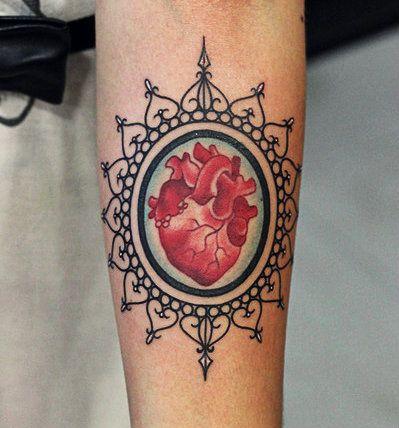 Tattoos Fofas: Corações