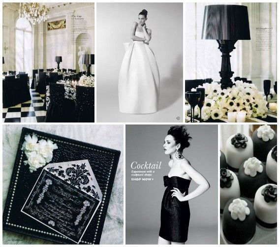 29 best Black White Wedding Ideas images on Pinterest Marriage