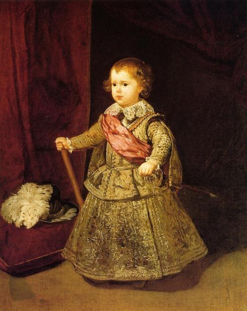Portrait of Prince Balthazar by Diego Velazquez