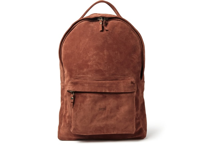 Ami Suede Backpack for Men | Ordinary Journal - Men's Bags&Wallet ...