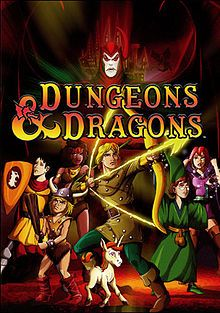 Dungeons & Dragons is an American fantasy animated television series based on TSR's Dungeons & Dragons role-playing game. A co-production of Marvel Productions and TSR, the show originally ran from 1983 through 1985 for three seasons on CBS for a total of twenty-seven episodes.
