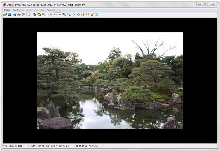 Bildbearbeitung - IrfanView (64 Bit)
