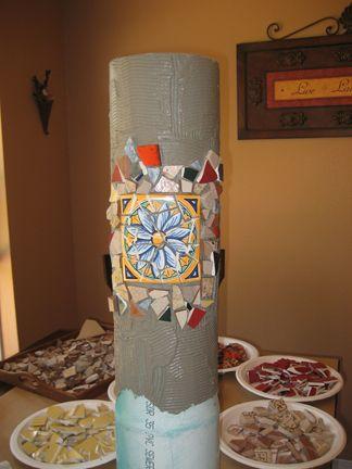 la fabricación de mosaico oh fa bebedero para pájaros buen tutorial
