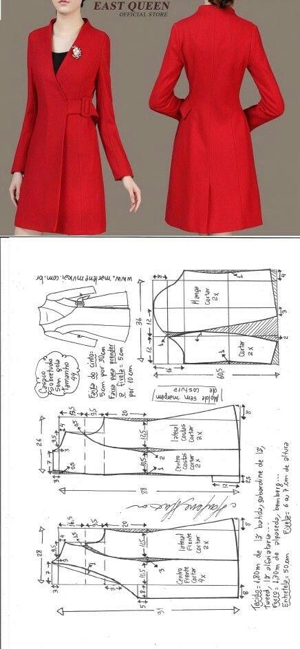 V-neck red jacket...<3 Deniz <3