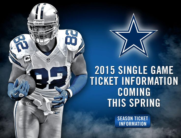2015 Single Game Tickets | Dallas Cowboys