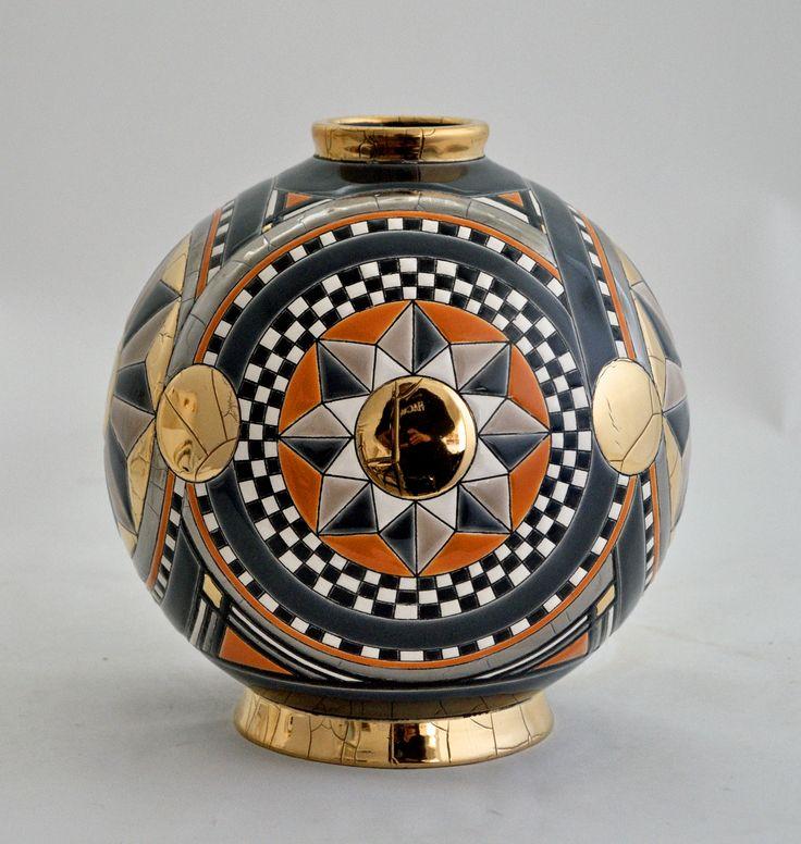 """Nouvelle collection """"Ca d'Oro"""" et """"Canalazzo"""", Emaux de Longwy, design Clotilde D."""