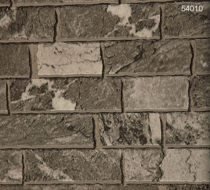 Halley 54010 Taş Desenli Duvar Kağıdı